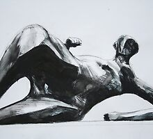 Study From Henry Moores-Relining Woman:Elbow 1981 by Josh Bowe