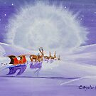 Santa and the Igloo by CKay Walker