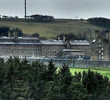 Dartmoor Prison (Colour) by Mark Bowden