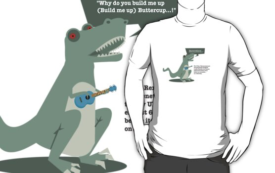 Ukulele T-Rex by Reece Ward
