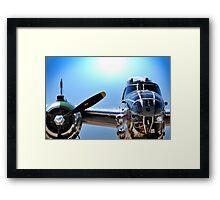 "MITCHELL B-25 MEDIUM BOMBER ""Panchito"" Framed Print"