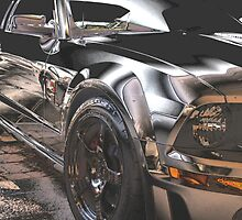 Chrome Pony by Steve Keefer