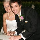 Signing Marriage Certificate by Tim Miller