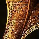 Eiffel Tower leg by Alex Howen