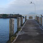 Crowdy Head Harbour Jetty by Graham Mewburn
