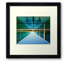Unusual perspective Framed Print