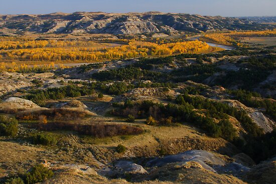 North Dakota Landscape by William C. Gladish