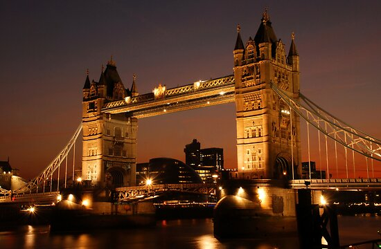 Tower Bridge by dberry