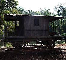 Old Train Carriage by Evita