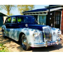 DAIMLER CONQUEST 1957  # 2 Photographic Print