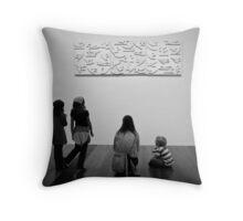 @Exhibition 03 Throw Pillow