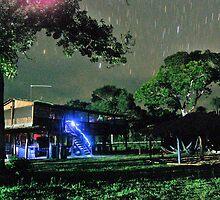 Pantanals at Night by David Towey