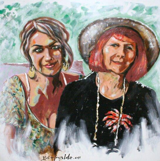 Desi's Grandma by Reynaldo