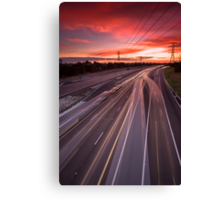 Beautiful drive home... Canvas Print