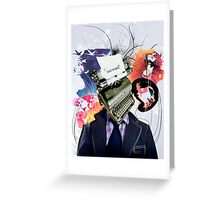 End Novel Greeting Card