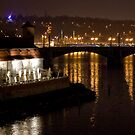 Nightscape from Charles Bridge # 3 (Prague) by ChrisHarvey67