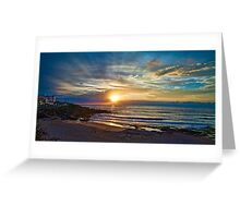 Maroubra sunrise Greeting Card