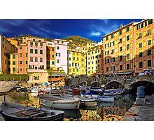Camogli - The Harbour           Photographic Print