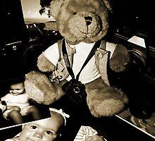 Teddy the Photographer by Evita