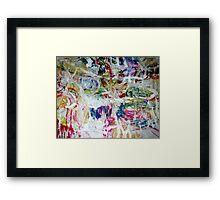 seventh sense Framed Print