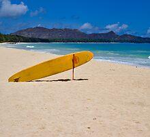 Waimanalo Beach Oahu by photosbyflood