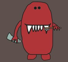 Tooth Brushing Monster by Alexandra Felgate