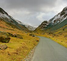 Honister Pass HDR (version 2 ) by Nigel Donald