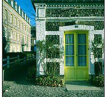 yellow door •veules-les-roses, normandy •2008 by lemsgarage