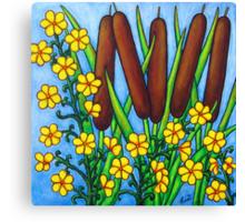 Wild Medley Canvas Print