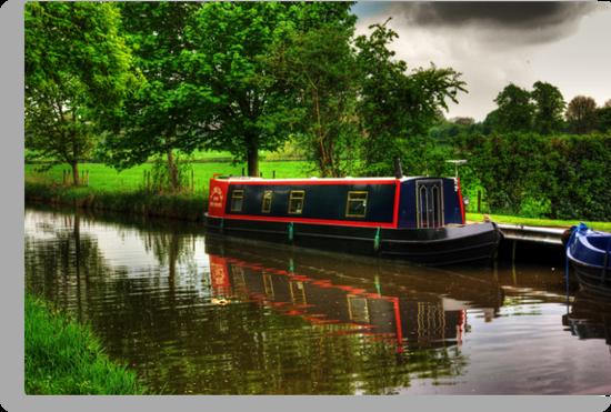 Canal Narrow Boat - Ripon by Trevor Kersley