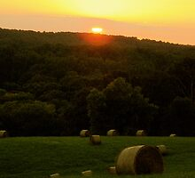 Sunset over Sagamore by ijam357