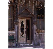 Saloon Door  Photographic Print