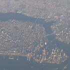 Approaching New York City from above...  by maxy