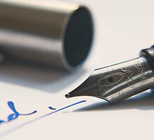Fountain Pen by William Davies