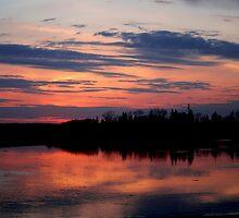 Twilight on Sturgeon by Larry Trupp