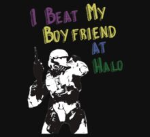 HALO I BEAT MY BOYFRIEND AT HALO by Hector Flores