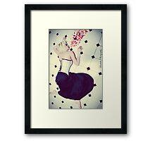 I Puke Glamour III Framed Print
