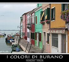 Burano by Angelo Vianello