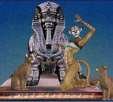 Cat Goddess by LoneAngel
