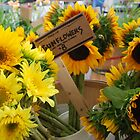 Market - Sunflower Bouquets by rabeeker