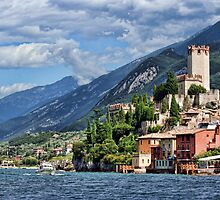 Castello Scaligeri, Malcesine, Lake Garda by Amanda White