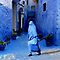 THE COLOR BLUE - MOROCCO by Michael Sheridan
