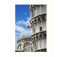 "Piazza dei Miracoli ""Square of Miracles"" Detail Art Print"