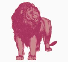 Pink Lion T-Shirts by Cheerful Madness!! by cheerfulmadness