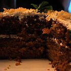 Carrot Ginger cake by Jeff Stroud