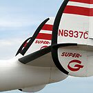 Lockheed Super G Constellation Tail Section by TeeMack