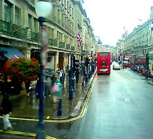 Rain in Regentstreet by bubblehex08