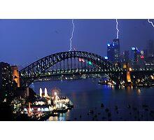 Bright Spark - Sydney Harbour 02/05/09 Photographic Print