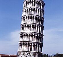 The Leaning Tower of Pisa by Steve Jarreau