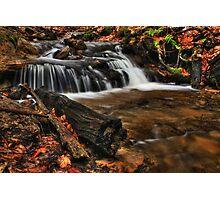 Wagner Falls Stream 1 Photographic Print
